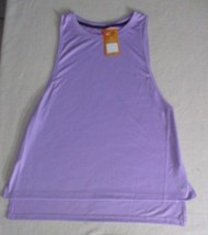 Women's Top Champion Duo Dri L Purple Sleeveless Irregular Tank - $8.79