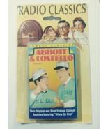 "Comedy Vintage Radio Golden age Cassette ABBOTT & COSTELLO ""Who's on Fir... - $24.00"