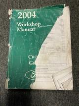 2004 Ford Corona Victoria Mercury Grande Marquis Servizio Negozio Manual... - $39.54