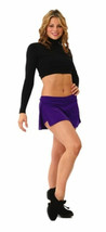 Capezio 107 Women's Extra Large (14-16) Black Long Sleeve Midriff Top - $18.99