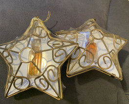 YSATIS Givenchy Perfume Mini FULL Vintage Star Ornament Lot Of 2 Great G... - $32.71
