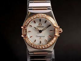 Constellation Constellation Quartz Ladies watch 2 needle omega 1812LR551 - $2,194.34