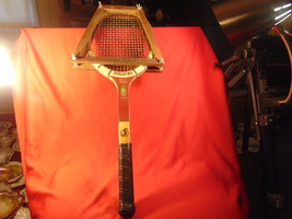 1960's, Spaulding, Pancho Gonzales. Signature Model Tennis Racket, with Frame. - $33.99
