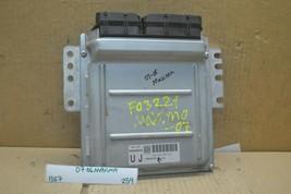 2007-2008 Nissan Maxima AT Engine Control Unit ECU A56Z89Z0C Module 254-... - $11.99