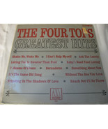 Four Tops Greatest Hits Motown 662 Stereo Vinyl Record LP Open Shrink - $24.99