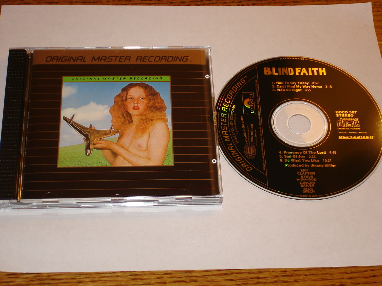Primary image for BLIND FAITH MFSL GOLD CD  MINT !