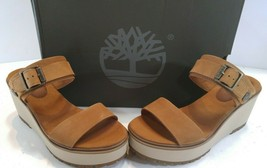TIMBERLAND KORALYN WEDGE RUST NUBUCK SZ 8.5M - $74.86