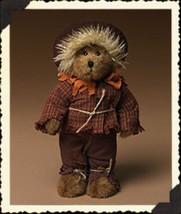 "Boyds Bears ""Scarecrow"" - #904373 -8"" Plush Bear -NWT-  2004- Retired - $29.99"