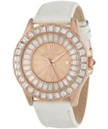 Betsey Johnson Women's Quartz Stainless Steel and Leather Casual Watch, ... - $146.52