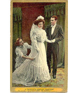 A Twentieth Century Courtship  Post Card - $5.00