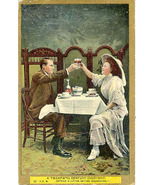 Getting A Little Better Acquainted Vintage Post Card - $5.00