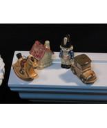 Goebel Hummel Ornament Mini Christmas Ornaments, Set of Four, 1980s Vintage - $29.99