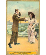 Making An Acquaintance Vintage Post Card - $5.00