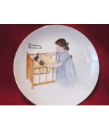 "Norman Rockwell Collector Plate ""Sleep Tight""  - $14.99"