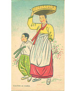 A Korean Mamasan vintage Post Card - $5.00