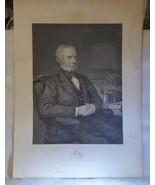 1873 Antique Steel Engraving Henry Clay Kentucky Senator Representative ... - $19.80