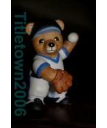 Homco Baseball Pitcher Bear 1403 Home Interiors - $5.99