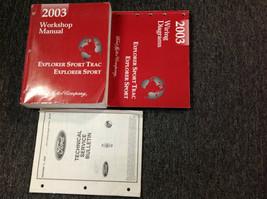 2003 Ford Explorer Sport Trac Service Atelier Réparation Manuel Set Usin... - $98.95