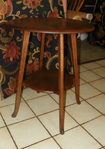 Quartersawn Oak Round Parlor Table Entry Table - $386.03
