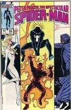 The Spectacular Spider-Man Comic Book #94 Marvel 1984 FINE - $2.50