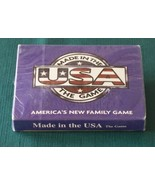 Made In The USA Card Game 2001 Sealed - $6.50