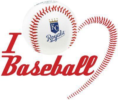 Kansas City ROYALS   I Heart Royals Baseball    3 x 3 Fridge Magnet for sale  USA