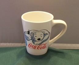 Coca Cola Polar Bear 12 Oz Coffee Mug 2001 Gibson VGC - $12.00