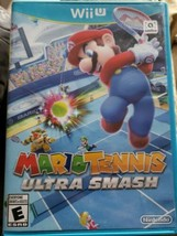 Mario Tennis: Ultra Smash (Wii U, 2015) Tested & Works. - $19.80