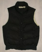 Gap Black Down Puffer Vest Size M - $28.99