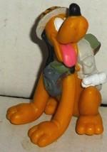 """PLUTO Dog PVC Figure sitting Safari 2.5"""", Disney - $19.99"""
