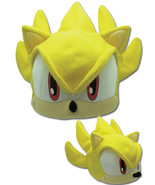 Sonic The Hedghog Super Sonic SEGA Costume Genesis Fleece Cap GE2339 *NEW* - $17.99