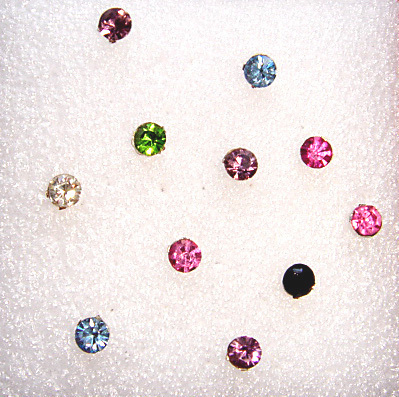 Mix & Match Rhinestone Studs