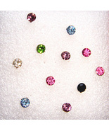 Mix & Match Rhinestone Studs - $0.00