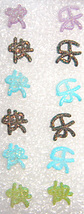 Chinese Character Soft Clay Mix & Match Studs - $0.00