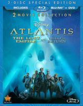 Disney Atlantis: The Lost Empire/Milo's Return (Blu-ray/DVD)