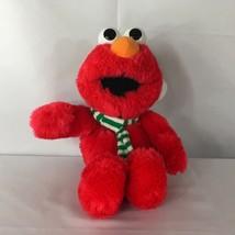 "Sesame Street Christmas Elmo Plush Hat and Scarf 14"" Stuffed Animal - $13.98"