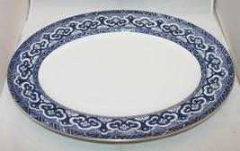 "Ralph Lauren Wedgwood Bone China Empire 40cm 15 3/4"" Large Oval Serving Plate - $136.86"