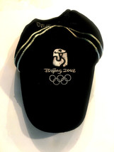 Beijing 2008 Olympics Hat Officially Licensed Black Hook And Loop Closure - $23.32