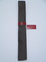 Alfani Red Gingham SQ Bot Necktie, Charcoal/Taupe, One Size - $24.50