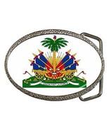 Haiti Coat of Arms Belt Buckle Haitian - $7.52