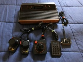 Forty-Three Different Atari 2600 Video Games & Console - $98.99