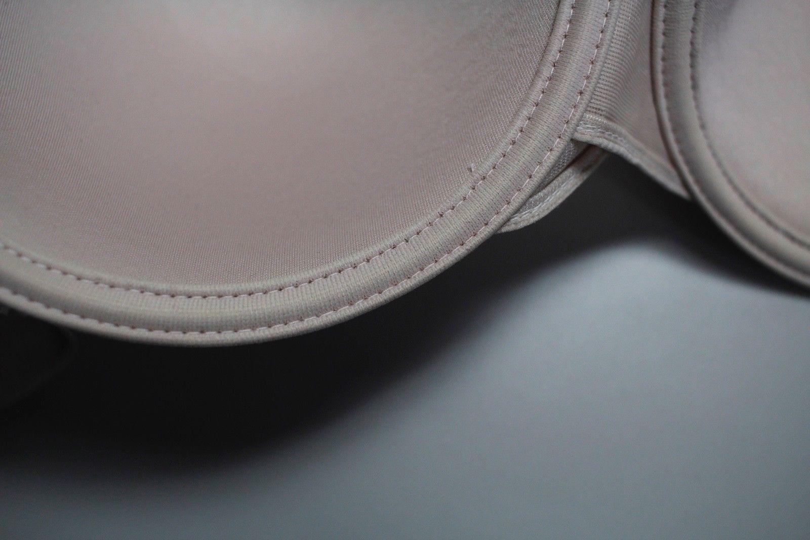d4efccf463123 Chantelle 3386 C-Paris Memory Foam T-Shirt Bra 36D Underwire Pink Lace Full