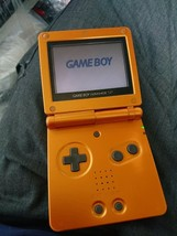 Nintendo Game Boy Advance SP GBA Pokémon Torchic Orange Limited Model Fr... - $88.29