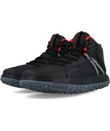 UNDER ARMOUR UA FAT TIRE MID BOOTS BLACK/GREY SIZE 8 BRAND NEW (1296611-... - $94.55