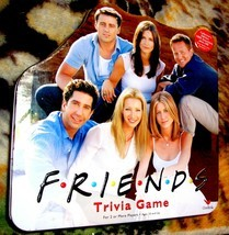 Friends Trivia Game  2002 IYellow Tin Cardinal Board Game-Complete - $26.00