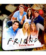 Friends Trivia Game  2002 IYellow Tin Cardinal Board Game-Complete - £20.06 GBP