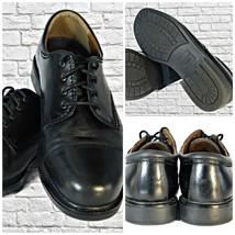 Men Dockers GORDAN 90-2214 Black Leather Cap Toe Lace-Up Oxford Shoes SI... - $38.61