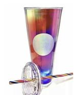 Starbucks 2021 Rainbow Pride LGBTQ Kaleidoscope 24 oz Cold Cup Tumbler - $48.39