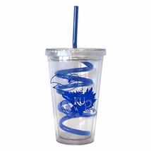 NCAA Kansas Jayhawks 16 oz Double Wall Acrylic Tumbler with Swirl Straw  - $6.95