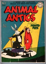 Animal Antics #1-1946-FIRST Raccoon KIDS-GOLDEN Age DC-VG Vg - $181.88